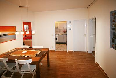 appartement city13 sitzbereich flur