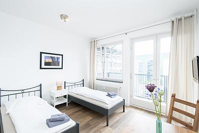 appartement city4 schlafzimmer einzelbetten