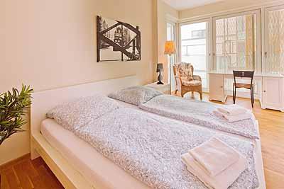 appartement hcity doppelbett