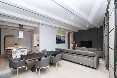 appartement master wohnzimmer ueberblick