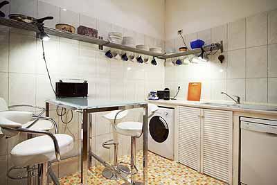 einzelzimmer hpl4 waschmaschine geschirrspueler sitzbereich