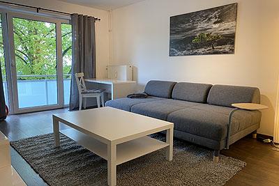 appartement barm wohnzimmer couchtisch bettsofa