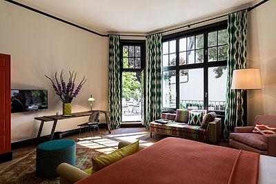 appartement freytagsuite1 schlafzimmer tv2