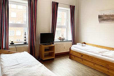 appartement koje einzelbetten