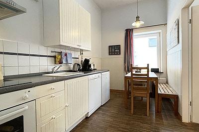 appartement koje kueche sitzbereich
