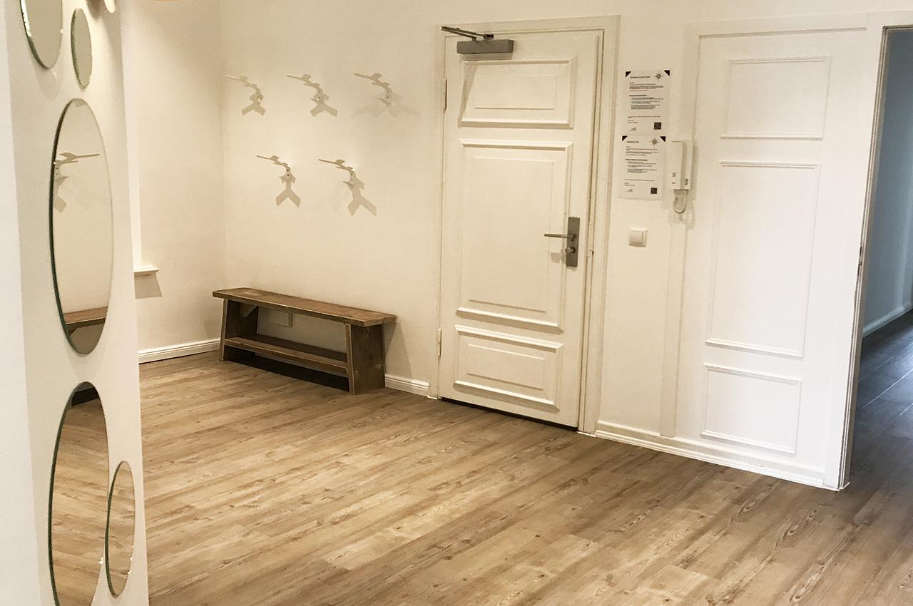 appartement 8erdeck flurbereich garderobe