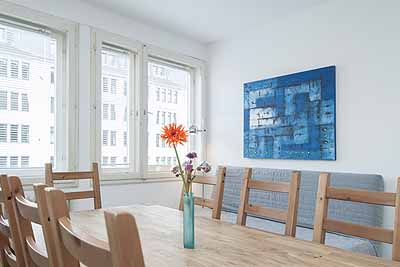 appartement city12 esstisch 6personen