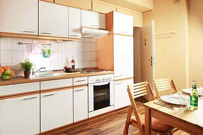 appartement city3 pantrykueche sitzbereich