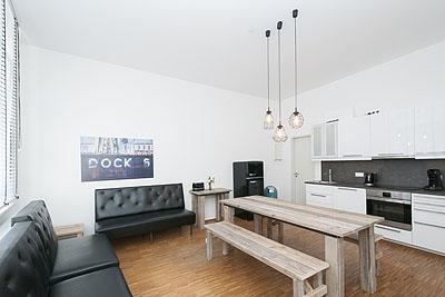 appartement dock6 wohnzimmer kueche