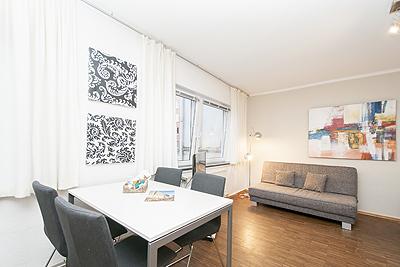 appartement hafen sitzbereich