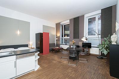 appartement loft wohnraum uebersicht